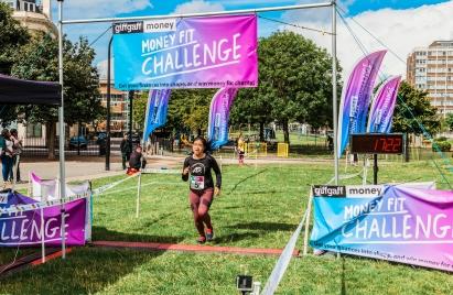 0012 Finish Line - Giff Gaff Money Fit Challenge